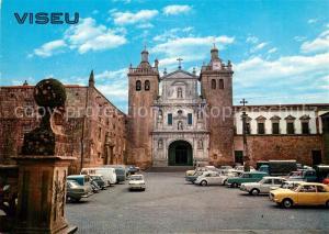 AK / Ansichtskarte Viseu Cathedral and Grao Vasco Museum Viseu