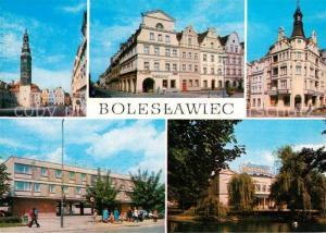 AK / Ansichtskarte Boleslawiec_Bunzlau Hotel Piast Restauracja Centralna Boleslawiec_Bunzlau