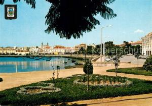 AK / Ansichtskarte Faro_Portugal Doca Jardim Manuel Bivar