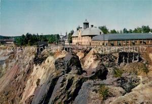 AK / Ansichtskarte Falun_Dalarnas_Lan Stora st?ten med gruvmuseet Falun_Dalarnas_Lan