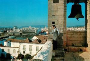 AK / Ansichtskarte Faro_Portugal Torre da Se