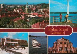 AK / Ansichtskarte Zielona_Gora Piekno Ziemi Lubuskiej Zielona Gora