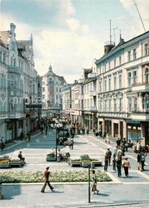AK / Ansichtskarte Zielona_Gora Pasaz staromiejski Ulica Stefana Zeromskiego  Zielona Gora