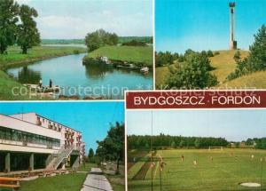 AK / Ansichtskarte Fordon Stadion Klubu Sportowego Wisla Dolina Smierci Fordon