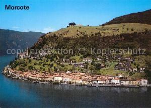 AK / Ansichtskarte Morcote_Lago_di_Lugano  Morcote_Lago_di_Lugano