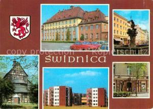 AK / Ansichtskarte Swidnica Siedziba Dyrekcji Swidnickiej Fabryki Wagonow Swidnica