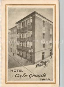 AK / Ansichtskarte Tolosa Hotel Cielo Grande