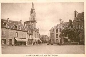 AK / Ansichtskarte Binic_Cotes_d_Armor Place de l`Eglise Binic_Cotes_d_Armor