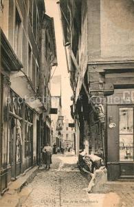 AK / Ansichtskarte Dinan Rue de la Cordonnerie Dinan