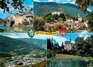 AK / Ansichtskarte Murau_Steiermark Stolzalpe Frauenalpe St. Leonhard Kirche  Murau_Steiermark