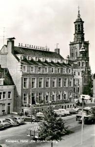 AK / Ansichtskarte Kampen_Niederlande Hotel De Stadsherberg Kampen_Niederlande