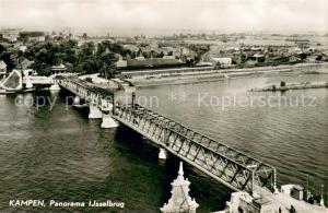 AK / Ansichtskarte Kampen_Niederlande Ijselbrug Panorama Kampen_Niederlande