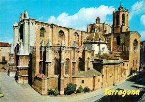 AK / Ansichtskarte Tarragona Catedral Tarragona