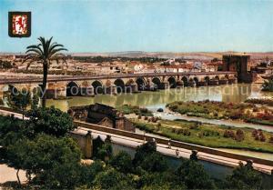 AK / Ansichtskarte Cordoba_Andalucia Puente Romano y Campo de la Verdad Cordoba Andalucia