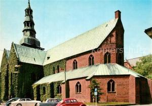 AK / Ansichtskarte Ystad Maria kyrka Kirche Ystad
