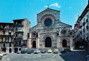 AK / Ansichtskarte Cosenza Il duomo Kathedrale Cosenza