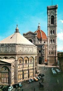 AK / Ansichtskarte Firenze_Toscana Battistero Cattedrale e Campanile di Giotto Firenze Toscana
