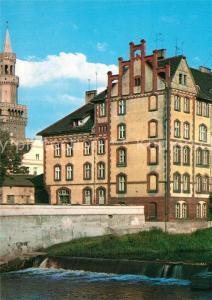 AK / Ansichtskarte Opole_Oberschlesien Nad Kanalem Mlynowka Opole_Oberschlesien
