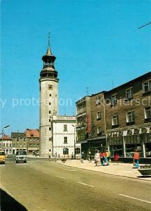 AK / Ansichtskarte Sulechow Ulica Wladyslawa Sikorskiego widok w kierunku ratusza Sulechow