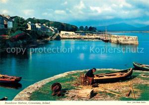 AK / Ansichtskarte Connemara Roundstone Harbour Connemara