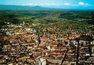 AK / Ansichtskarte Graz_Steiermark mit Blick auf Herz Jesu Kirche Krankenhaus Ries und Ragnitz Fliegeraufnahme Graz_Steiermark