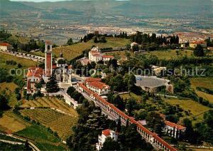 AK / Ansichtskarte Vicenza Santuario di Monte Berico veduta aerea Vicenza