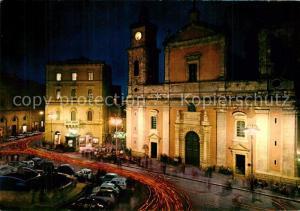 AK / Ansichtskarte Caltanissetta_Sicilia Piazza Garibaldi Duomo di notte Caltanissetta Sicilia