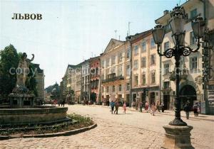 AK / Ansichtskarte Lvov_Lemberg_Lwow Marktplatz Lvov_Lemberg_Lwow