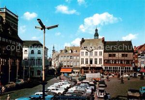 AK / Ansichtskarte Hasselt_Overijssel De Grote Markt Hasselt Overijssel