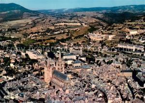 AK / Ansichtskarte Mende Vue generale aerienne La Cathedrale par Urbain V Mende