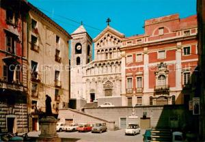 AK / Ansichtskarte Cagliari Piazza S Francesco La Cattedrale Cagliari