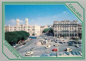 AK / Ansichtskarte Cagliari Sulla sinistra il Palazzo Municipale Cagliari