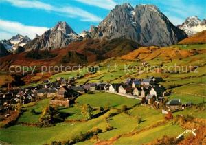 AK / Ansichtskarte Lescun Panorama Aiguilles d Ansabere et Pic Billare Alpes Lescun