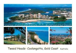 AK / Ansichtskarte Gold_Coast_Australia Tweed Heads Coolangatta Gold_Coast_Australia