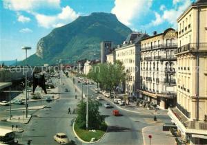 AK / Ansichtskarte Grenoble Place de la Gare Hotels Casque de Neron  Grenoble