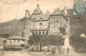 AK / Ansichtskarte Dauphine Chateau de Vizille Dauphine
