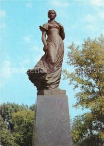 AK / Ansichtskarte Kiev_Kiew Monument Lesya Ukrainka Kiev_Kiew