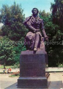 AK / Ansichtskarte Kiev_Kiew Monument Puschkin Kiev_Kiew