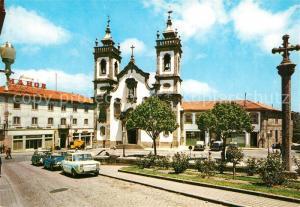 AK / Ansichtskarte Guarda_Portugal Igreja da Misericordia Kirche Guarda Portugal