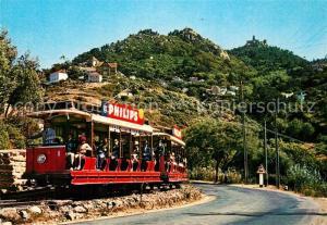 AK / Ansichtskarte Sintra Carro electrico Strassenbahn Sintra