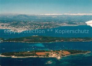 Cannes_Alpes Maritimes Iles de Lerins Cannes La Croisette Golfe Juan vue aerienne Cannes Alpes Maritimes