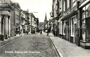 AK / Ansichtskarte Kampen_Niederlande Stadhuis met Oudestraat Kampen_Niederlande