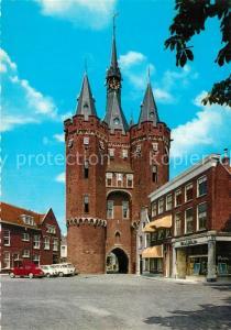 AK / Ansichtskarte Zwolle_Overijssel Sassenpoort Zwolle_Overijssel