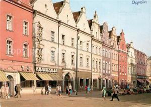 AK / Ansichtskarte Opole_Lubelskie Kamieniczki w Rynku Opole_Lubelskie
