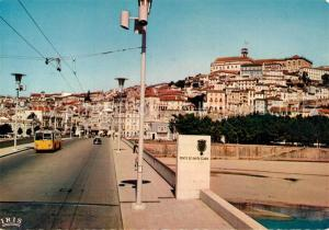AK / Ansichtskarte Coimbra Ponte de Santa Clara Coimbra