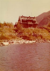 AK / Ansichtskarte Tatry_Vysoke_Gebirge Schronisko PTTK nad Morskim Tatry_Vysoke_Gebirge