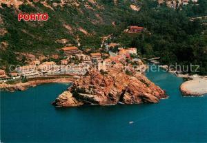 AK / Ansichtskarte Porto_Corse Le hameau du pont et la marine Vue aerienne Porto Corse