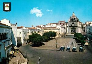 AK / Ansichtskarte Elvas_Portugal Praca Dom Sancho II Se
