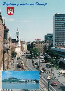 AK / Ansichtskarte Bratislava Spitalska ulica Hrad Strassenpartie Innenstadt Burg Bratislava