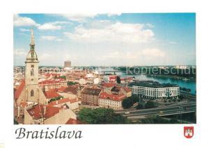 AK / Ansichtskarte Bratislava Stadtpanorama Bratislava